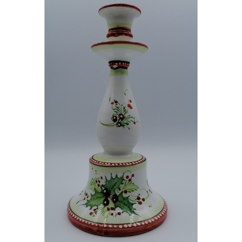 Candeliere in pregiata ceramica...