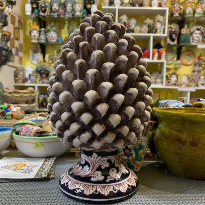 Pigna siciliana ceramica Caltagirone...