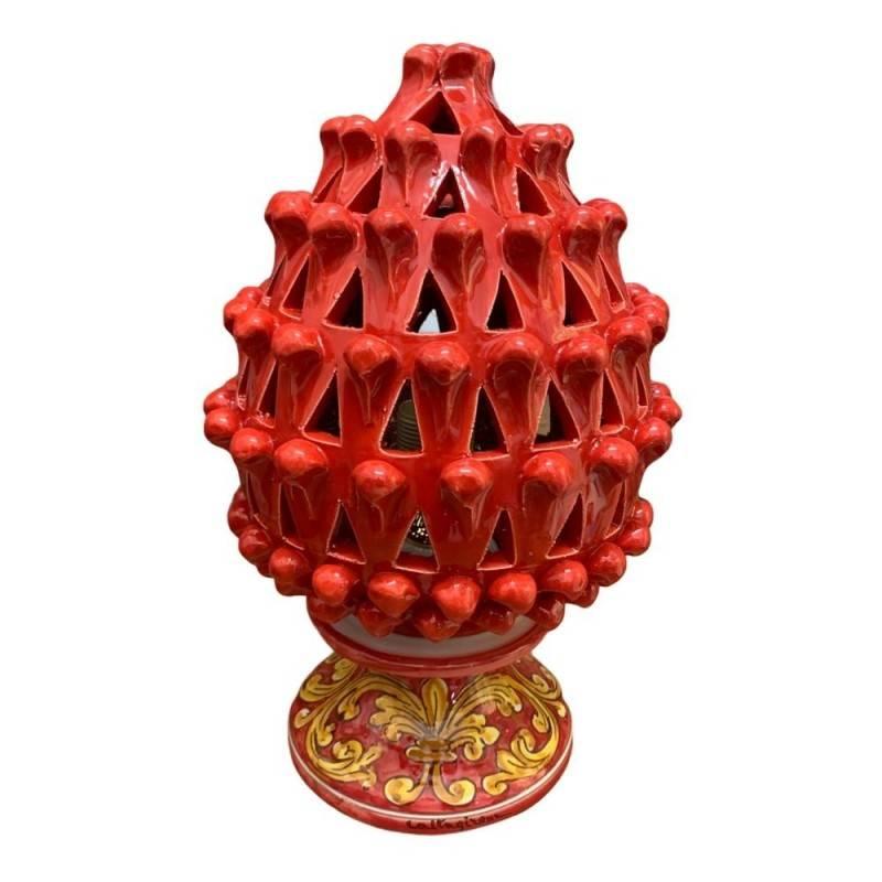 Lampada Pigna Siciliana in ceramica...