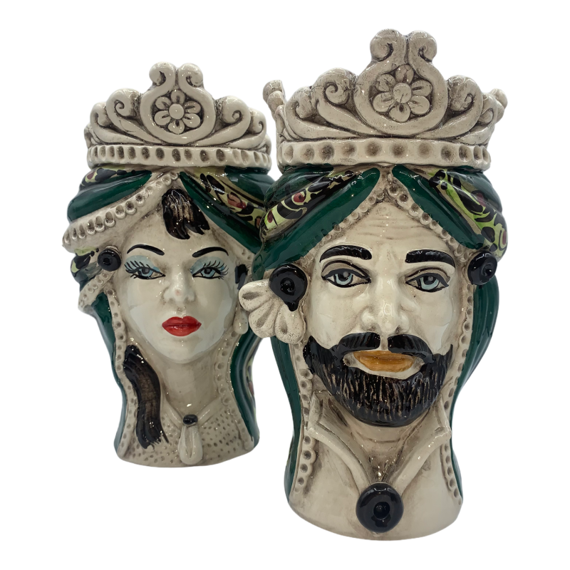 Testa Siciliana ceramica Caltagirone...